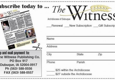Witness to change printing schedule