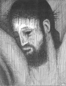 portrait crucified