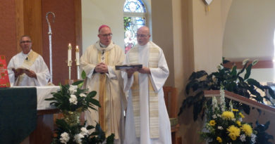 Couples married 50+ years honored at Masses