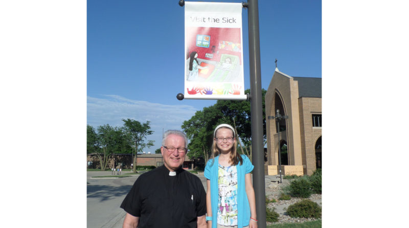 St. Cecilia students raise awareness for Year of Mercy