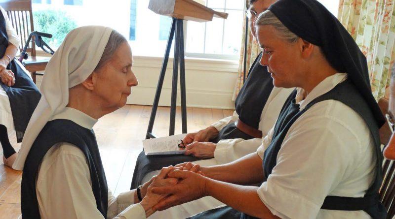 Former college professor becomes Trappist nun