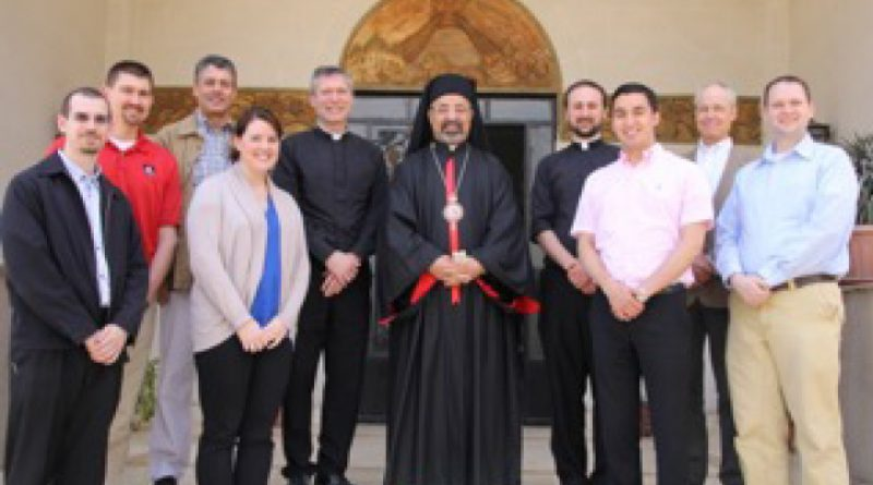 Seminarian visits Egypt with Catholic Relief Services