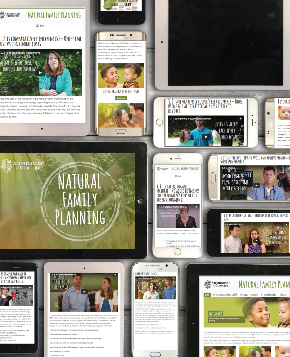 Video series promotes benefits of natural family planning