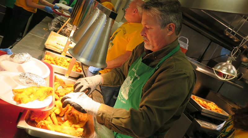 Friday fish fries unite parishes, build community during Lent