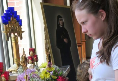 Relics connected to Divine Mercy at Cedar Rapids parish