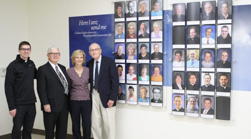 New display at Wahlert highlights vocations