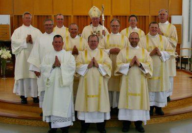 Eleven men ordained permanent deacons