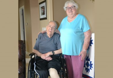 Deacon and his wife on long road to recovery after accident