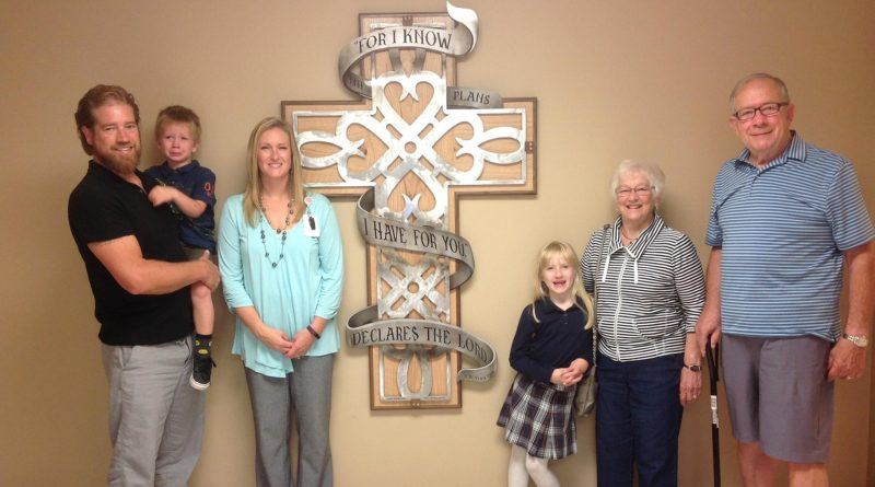 St. Matthew School parent creates, donates new cross