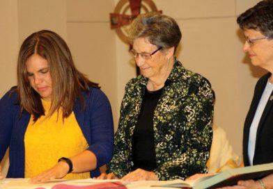 Mary Therese Krueger professes vows