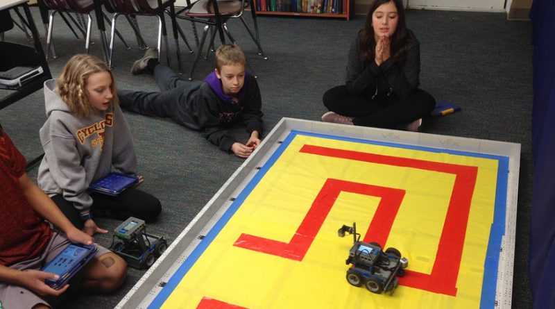 Robots rev up learning for Webster City Catholic school students