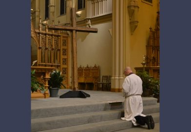 Service of Lament held to pray for clergy sex abuse victims, church