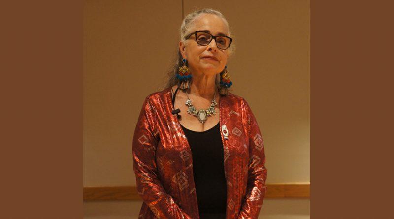 Puerto Rican artist Magdalena Gómez delivers a message of peace