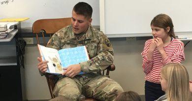 Heroes help foster kids' love of reading