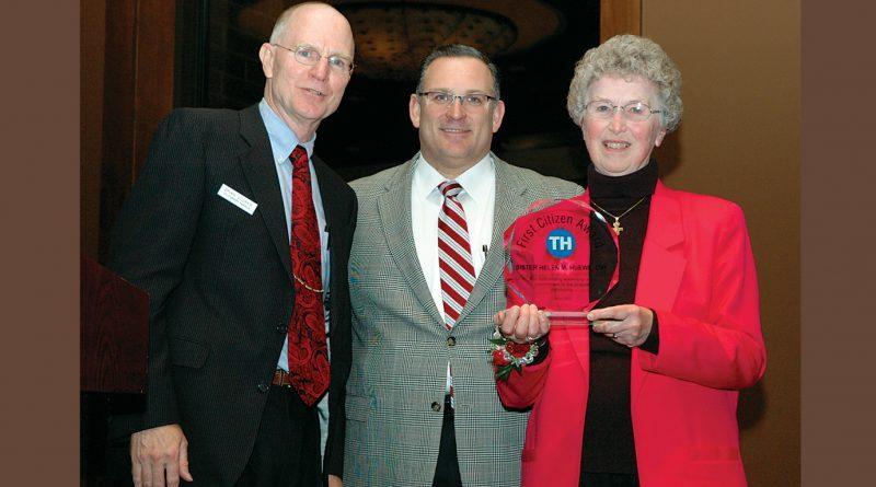 Sr. Helen Huewe, OSF, was 2010 First Citizen Award recipient