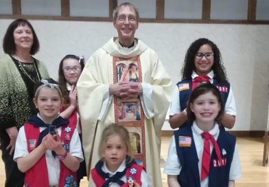 American Heritage Girls receive religious awards