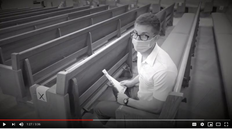 Marshalltown parish's video gives guidance on attending Mass indoors during pandemic